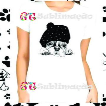 Camiseta Personalizada Estampa de Dog