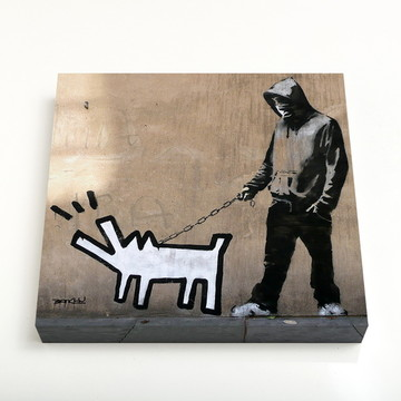 Quadro 16 Keith Haring's Barking Dog