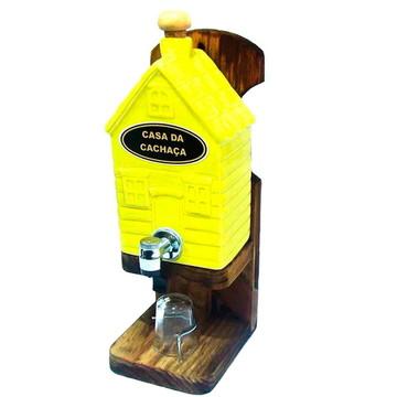 Pingometro Decor Casa Amarela - Porcelana - 1L