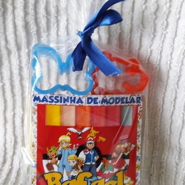 Kit massinha Pokemon
