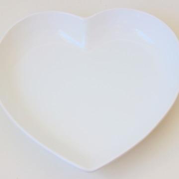 Tigela coração grande - Branca