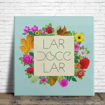 Azulejo Decorativo Lar Doce Lar