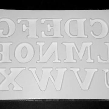 Molde de silicone Alfabeto Gr.