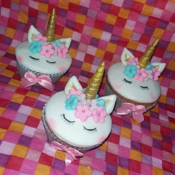 Mini cupcake Unicornio