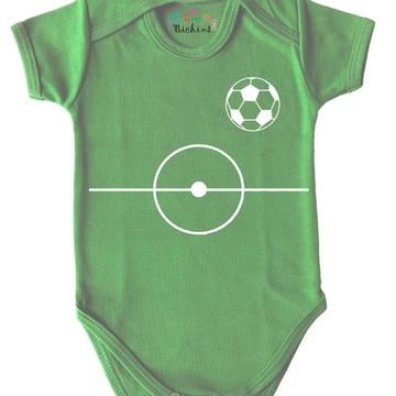 Bodie de bebê Futebol campo