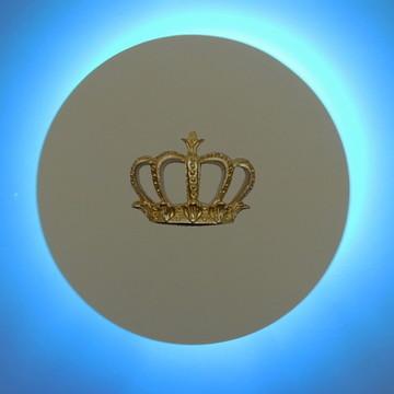 Circulo led luminária coroa M