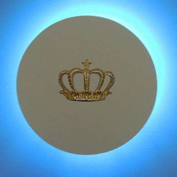 Circulo led luminária coroa P