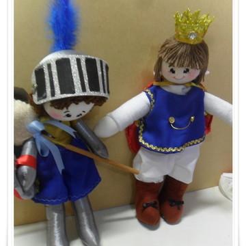 Boneco Rei Arthur e Cavaleiro