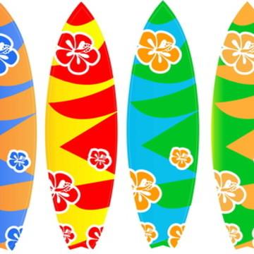 e83be0f4b Adesivo de Parede Prancha Surf