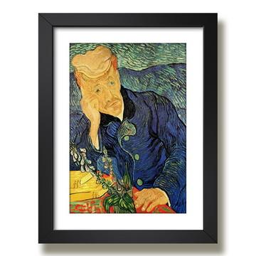 Quadro Van Gogh Retrato Dr Gachet Pintores Famosos Decoracao
