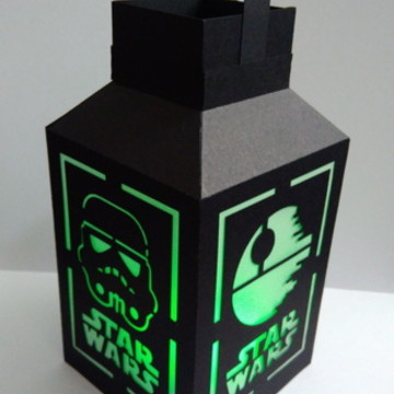 Luminária Star Wars