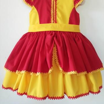 Vestido Emília - Sítio do pica-pau
