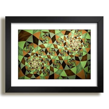 Quadro Figuras Geometricas Abstrato F20