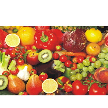 Adesivo Cozinha Frutas Verduras J07