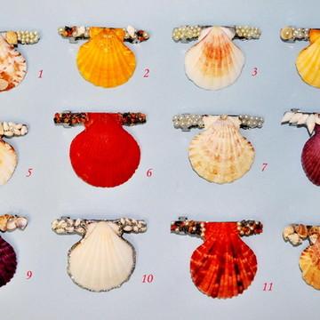 Presilhas de cabelo Fruto do Mar