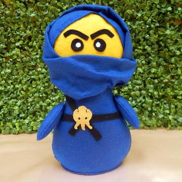 Ninja Jay Big Pocket em Feltro