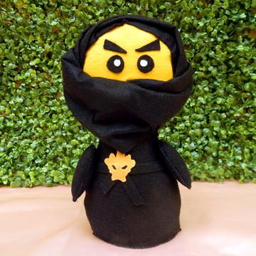 Ninja Cole Big Pocket em Feltro