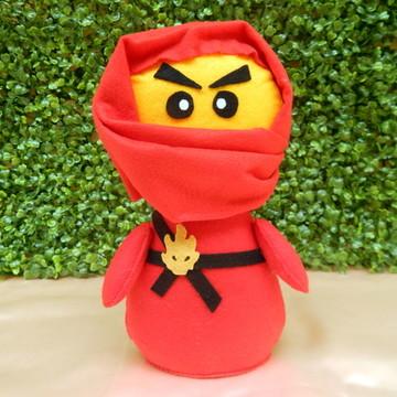 Ninja Kai Big Pocket em Feltro