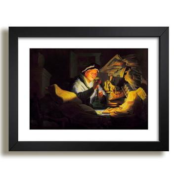Quadro Rembrandt Pintores Famosos G5