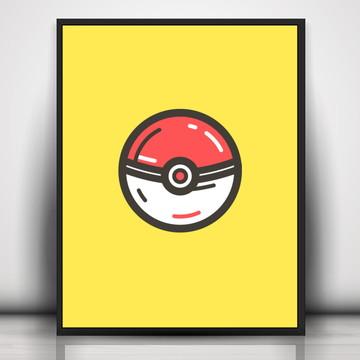 Poster Pokemon - Pokeball