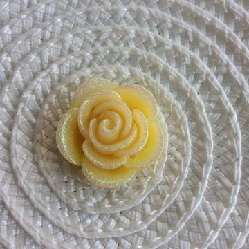 Flor 2,5 cm Artesanato e Chinelo