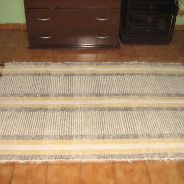Tapete rústico de tear de algodão frete grátis
