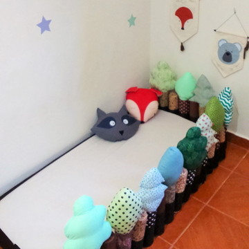Mini Cama Floresta Montessori