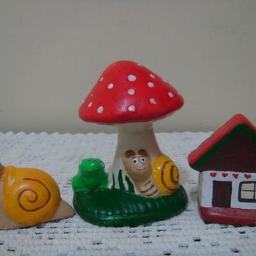 kit para mini jardim ou vasos