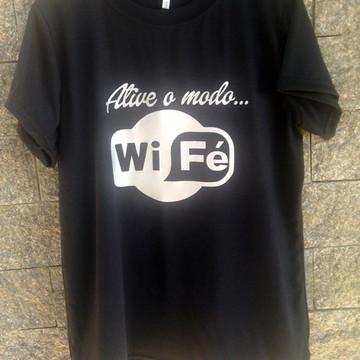 27fcfe185 Camisetas Gospel Feminina