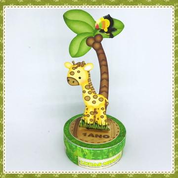 Latinha Selva - Safari - Girafa