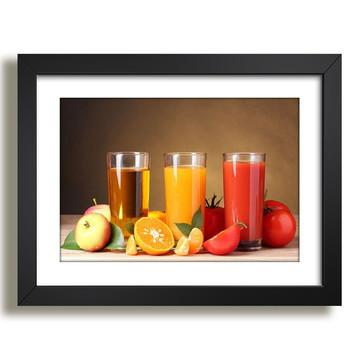 Quadro Copa Frutas Decorativo F29