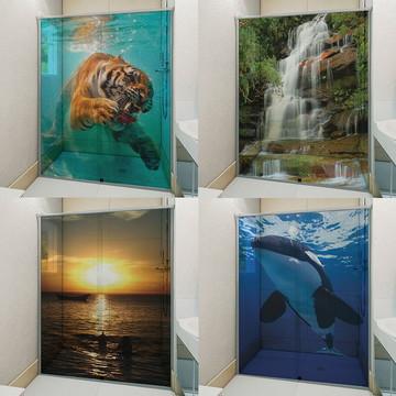 7bdf2d85d1 Adesivo Para Box De Banheiro 3D Variados 1