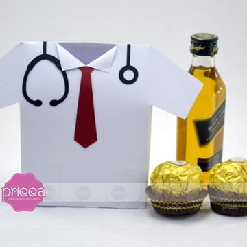 Molde - Caixa Camisa Médico