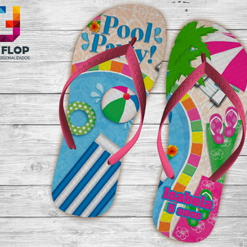 CHINELO PERSONALIZADO-POOL PARTY.