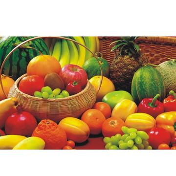 Adesivo Cozinha Frutas Suco Verdura J262