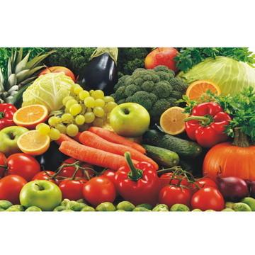 Adesivo Cozinha Frutas Suco Verdura J264