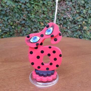 Vela Mágica Ladybug