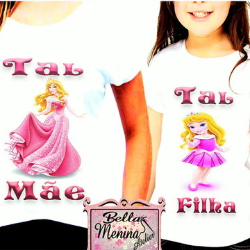 Kit 2 Camisetas Tal Mãe Tal Filha,