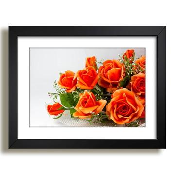 Quadro Floral Pétalas Decoracao F36