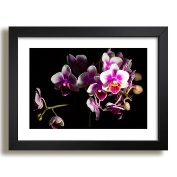 Quadro Floral Vaso Decoracao F36
