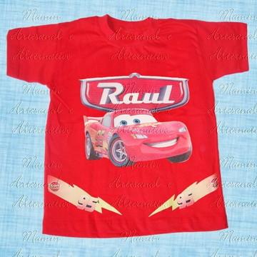 Camiseta divertida Carros Mcqueen