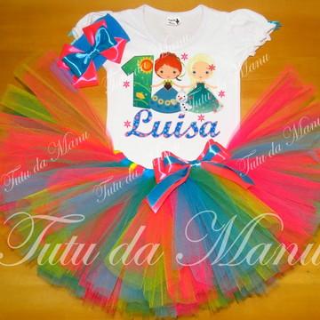 Fantasia Tutu Frozen Fever Cute