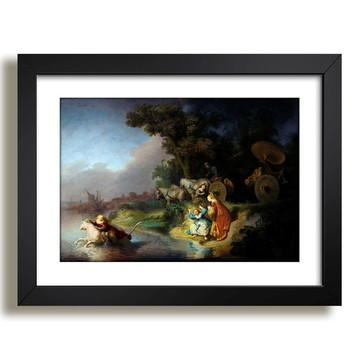 Quadro Rembrandt Abdução da Europa Arte Decoracao Sala