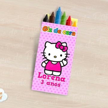 Giz de cera Hello Kitty