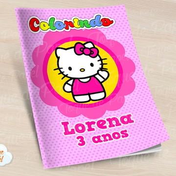 Revista colorir Hello Kitty