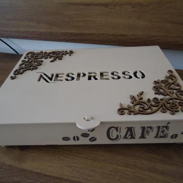 Caixa cápsulas café Nespresso