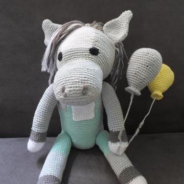 Cavalinho em crochê - amigurumi