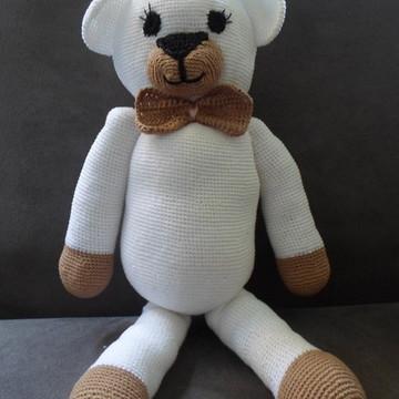 Ursinho em crochê - amigurumi