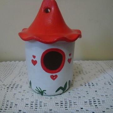 Casa de Passarinho - Ninho em cerâmica