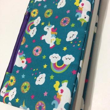 Capa para livros em tecido